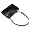 포안() TWIN ZIP MULTI WALLET-MINI BAG_BLACK