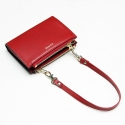 포안(POANE) TWIN ZIP MULTI WALLET-MINI BAG_RED