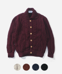 [인기 재입고] ARAN COLLAR CARDIGANS (5color)