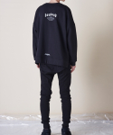 피치블랙() BOYHOOD CREWNECK (BLACK)