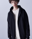 피치블랙() SIDE VENT REGLAN HOOD ZIP (BLACK)