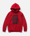 POSTER HOODIE RED