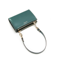 포안() TWIN ZIP MULTI WALLET-MINI BAG_BLUE-GREEN