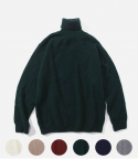 LAMBSWOOL ROLL NECK KNIT (6color)
