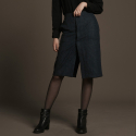 Trench dv Skirt(Navy)