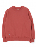 [기모]HANDLE SWEAT SHIRTS[BRICK RED]