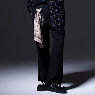 덕다이브(duckdive) S.B LONG SLACKS PANTS_BLACK