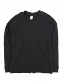 메종드슈크레(MAISON DE SUCRE) [기모]LAYER SWEAT SHIRTS [BLACK]