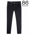 86로드(86ROAD) 86RJ_1672 basic black jeans