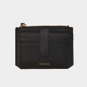 살랑(SALRANG) Dijon 301S Flap mini Card Wallet black