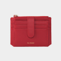 살랑(SALRANG) Dijon 301S Flap mini Card Wallet cherry red