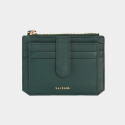 살랑(SALRANG) Dijon 301S Flap mini Card Wallet olive green