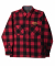 니들워크(NEEDLE WORK) WOOL CPO SHIRTS JK (RED)