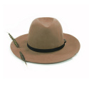 페이퍼코드() Abrahan wide felt fedora brown