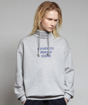 옴펨(HOMFEM) Bottle neck pullover_Grey