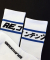 리플레이컨테이너(replaycontainer) blue line socks (white)