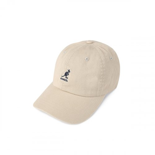 캉골(KANGOL) Washed Baseball 5165 KHAKI