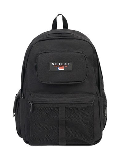 베테제(VETEZE) RETRO SPORT BAG - BK