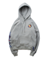 로맨틱크라운(romanticcrown) Ceremony Tape Wide hoodie_GRAY