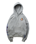 Ceremony Tape Wide hoodie_GRAY