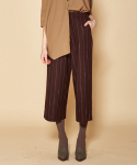더케이스토리(THEKSTORY) STRIPE PANTS_BROWN