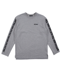 바이엘(BY.L) NEWW LONG SLEEVE (GREY)