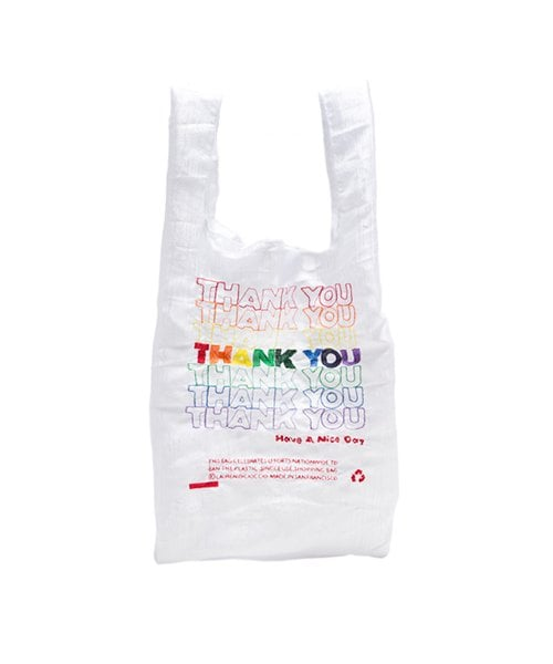 034976b88ea3 오픈에디션스(OPEN EDITIONS) THANK YOU TOTE RAINBOW - 50