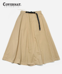 커버낫(COVERNAT) COTTON TWILL EASY SKIRT BEIGE
