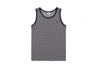 루스리스(ruthless) TANK TOP CHECKER / BK