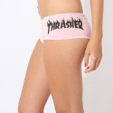 쓰레셔(THRASHER) Flame Logo Hot Shorts - Pink