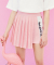 로라로라(ROLAROLA) FUN WRAP PLEATS SKIRT_PINK