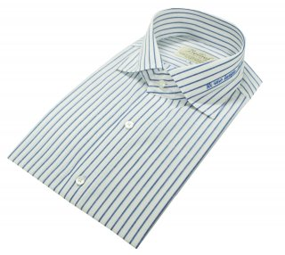 벨리프(bellief) Linen stripe shirt (Blue)_BLS17228