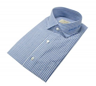 벨리프(bellief) Linen stripe shirt (Sky Blue)_BLS17229