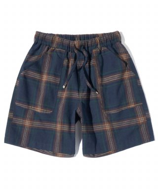 파르티멘토(partimento) Plaid Check Half Pants