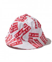 FUCT SSDD / OUR PLEASURE HAT / WHITE