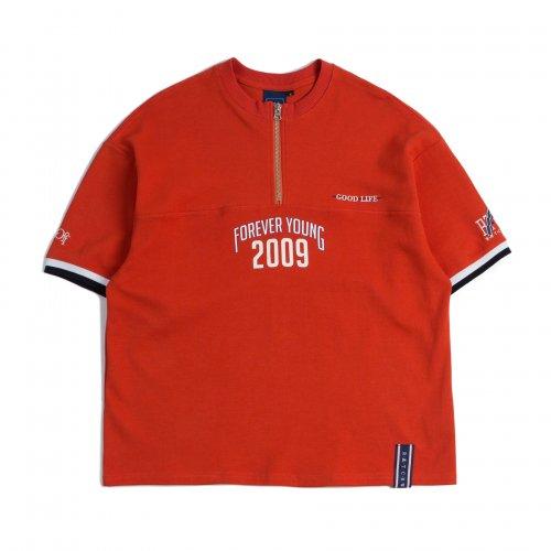 2009 집업 티셔츠_오렌지로맨틱크라운(ROMANTIC CROWN) 2009 집업 티셔츠_오렌지 - 20,000원 - 무신사 스토어 - 웹
