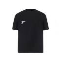 세인트쇼() FBI & PISTOL REVERSIBLE T-SHIRT BW