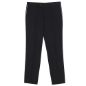 LINING SLACKS PANTS (BLACK)