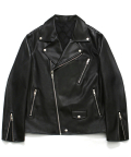 라퍼지스토어(LAFUDGESTORE) [FW ver.] Buffing Leather Rider Jacket