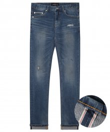 M#1393 top end selvedge vintage jeans