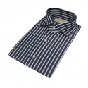 벨리프(BELLIEF) Stripe dress shirt (Navy)_BDF17247