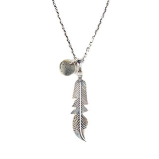 에이징씨씨씨(aging) #135 NAVAJO FEATHER NECKLACE