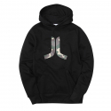 위에스씨(WESC) (H8)Inlay Icon Hood(mens hooded.black)