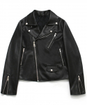 라퍼지스토어(LAFUDGESTORE) [FW ver.] Buffing Leather Rider Jacket_Woman