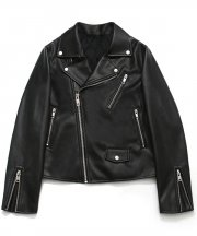 [FW ver.] Buffing Leather Rider Jacket_Woman