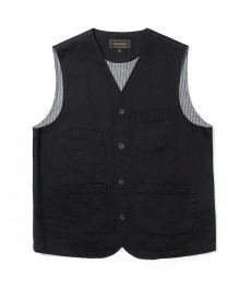 17fw hbt pocket vest black
