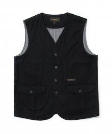 17fw hunting vest black