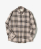 Sealion - Flannel Check Shirts [Ivory]