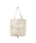 카미노 스트릿(CAMINO STREET) OUT FOCUS POCKET ECO BAG (BEIGE)