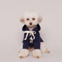 피크라이즈() Eyelet Ribbon Hood Navy